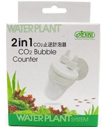 Ista Co2 2 in 1 Bubble Counter With Check Valve