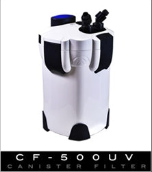 Aquatop Cannister Filter W/UV CF500-UV