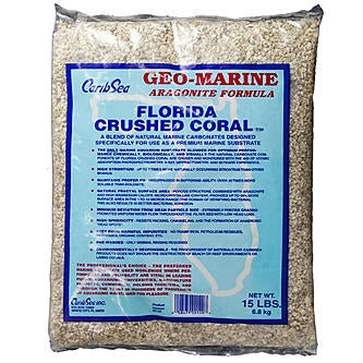 Caribsea Florida Crushed Coral 40 Lb