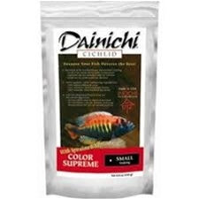 Dainichi Cichlid Color Supreme Sinking Small Pellet Food 8.8 oz