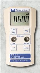 Milwaukee MW802 Smart Portable pH/EC/TDS Meter