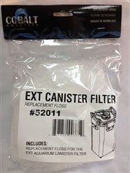 Cobalt Floss for EXT Canister Filter