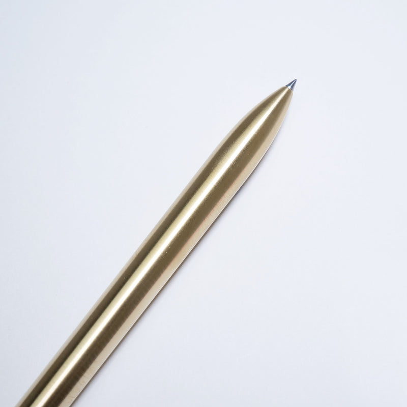 The Pen-Natural Brushed Brass-