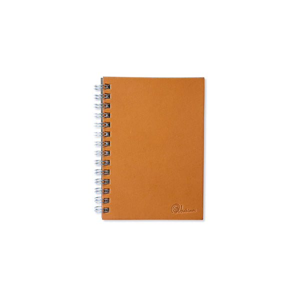 Notebooks thick leather cover〈B7  brown〉