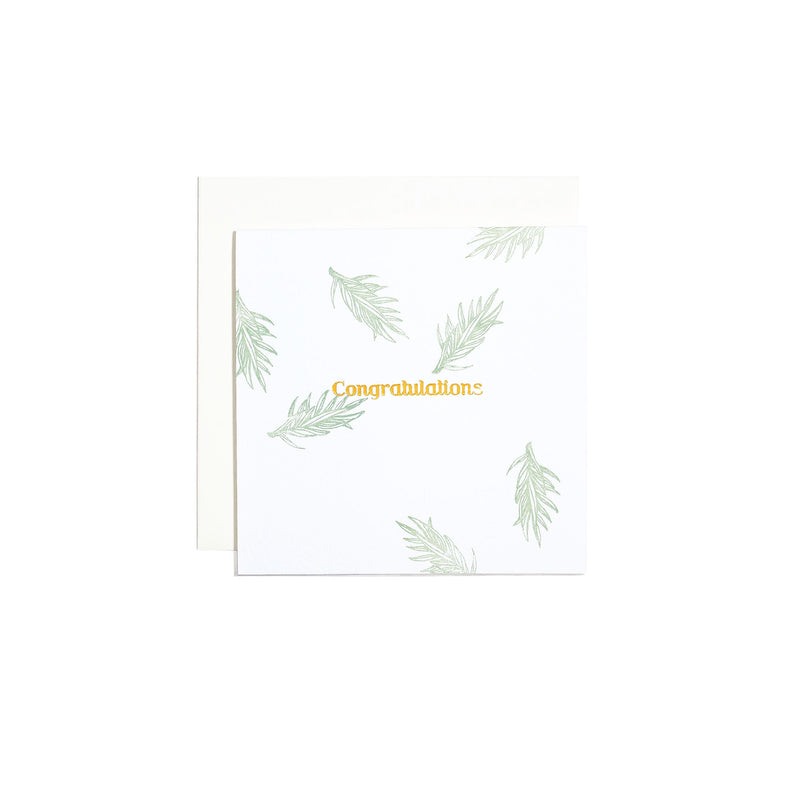 MESSAGE CARD -CONGRATULATIONS-
