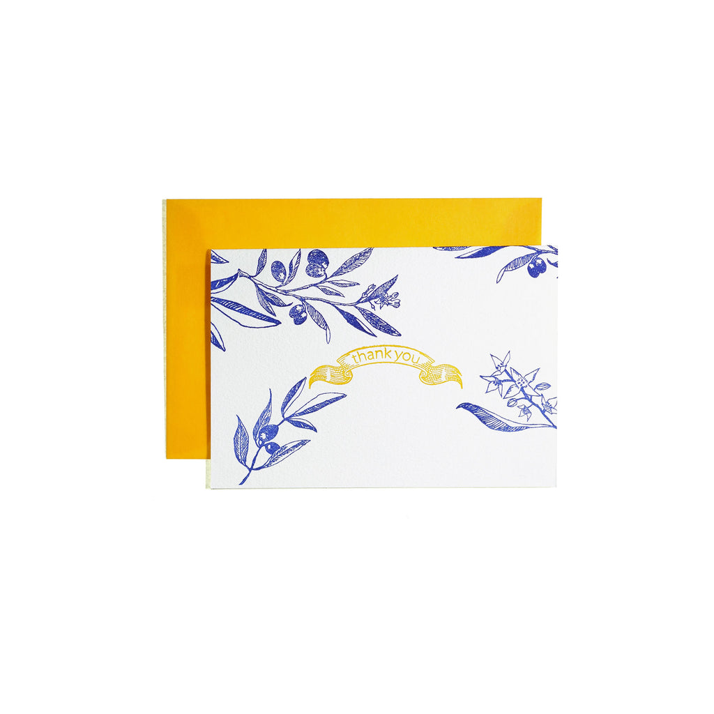 MASSAGE CARD -Spring Olive-