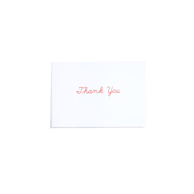 MESSAGE CARD -THANK YOU-