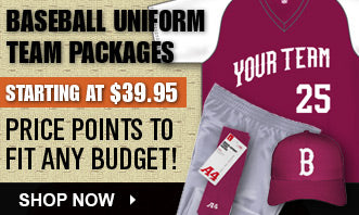 Baseball - Uniform Packages