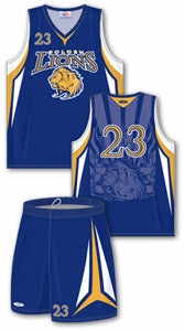 Custom Sublimated Basketball Uniforms
