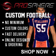 Prosphere Football Uniforms