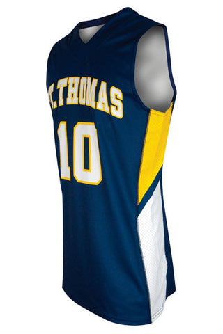 Custom Sublimated Basketball Jersey Design 100-1