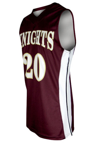 Custom Sublimated Basketball Jersey Design 100-3