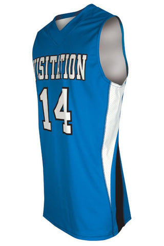 Custom Sublimated Basketball Jersey Design 100-4
