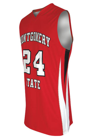 Custom Sublimated Basketball Jersey Design 100-5