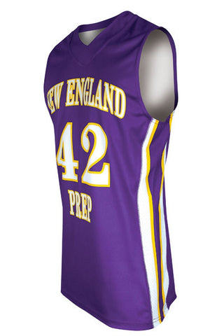 Custom Sublimated Basketball Jersey Design 100-7