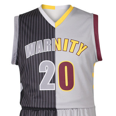 194c5ca46 Custom Sublimated Basketball 2-Ply Reversible Game Jersey