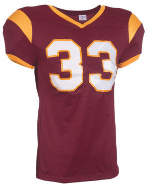 Grinder Steelmesh Football Jersey Maroon/Gold