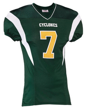 Double Coverage Steelmesh 2 Football Jersey Dk Green/White