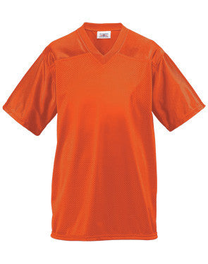 Men's Tricot Mesh Flag Football Jersey Orange