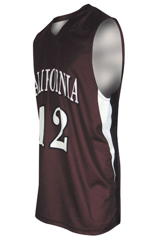 Custom Sublimated Basketball Jersey Design 200-2