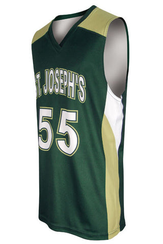 Custom Sublimated Basketball Jersey Design 200-4