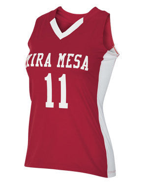 Crush Women's Lacrosse Jersey Scarlet/White