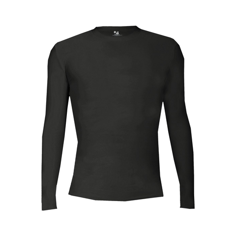Badger Sport Pro-Compression L/S Youth Crew