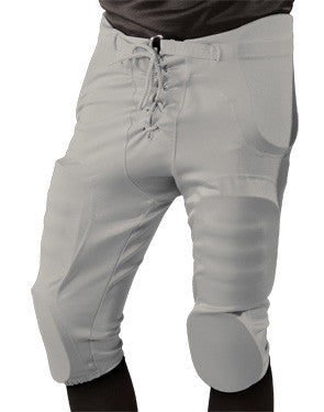 Power Stretch Integrated Football Pant Silver