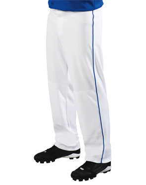 Big Show 12 oz. Piped Loose-Fit Softball Pant White/Royal