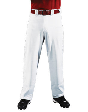 Big Show 12 oz. Loose-Fit Softball Pant White