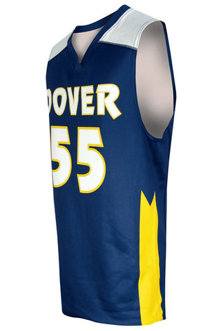 Custom Sublimated Basketball Jersey Design 400-8