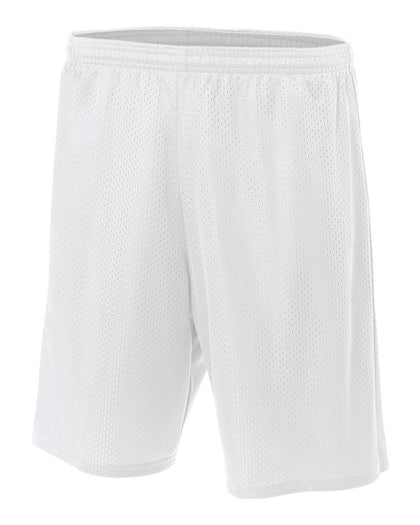 "A4 7"" Lined Tricot Mesh Shorts"