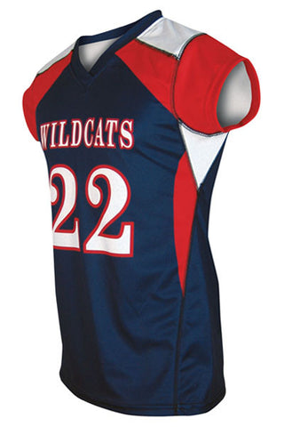 Custom Sublimated Girls Lacrosse Jersey Design 500-1