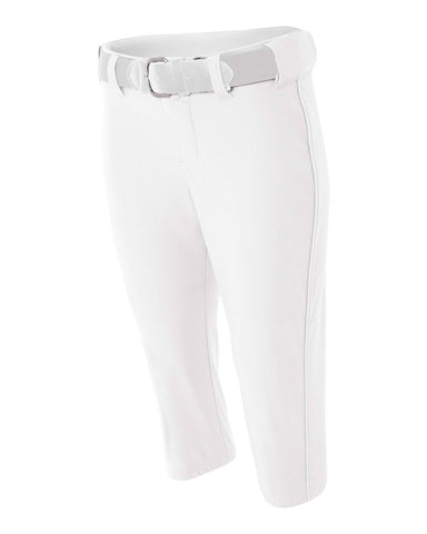 A4 Womens Softball Pant With Cording