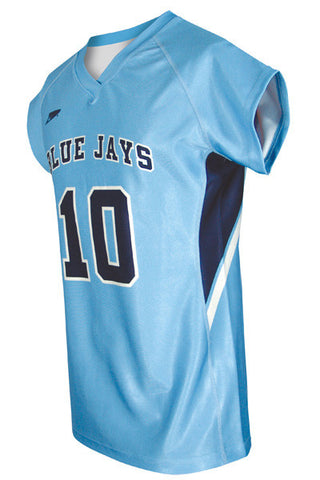 Custom Sublimated Girls Lacrosse Jersey Design 700-10