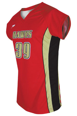 Ladies Custom Sublimated Volleyball Jersey Design 700-9