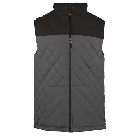Badger Sport Colorblock Quilted Vest