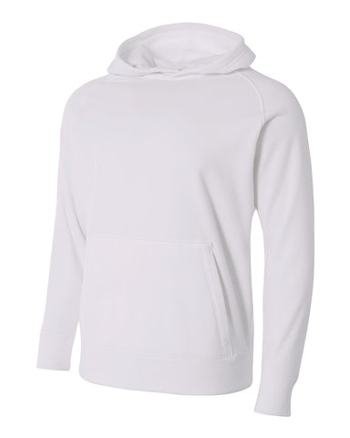 A4 Youth Solid Tech Fleece Hoodie