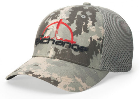 Style 855 Air Mesh R-Flex Digital Camo Flexfit Cap