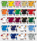 H7000 Select Series Hockey Jersey Colors