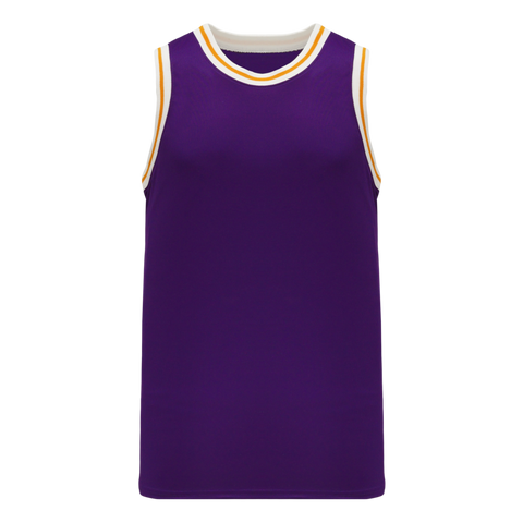 Pro Cut Basketball Jersey with Knitted Trim