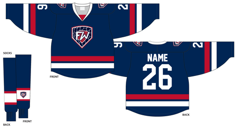 Fitwell 600 Series Cut & Sewn Hockey Jersey