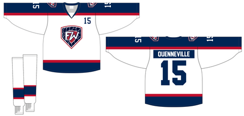 Fitwell Sublimated two ply reversible Hockey Jersey