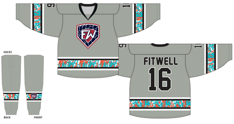 Fitwell 700 Series Cut & Sewn Hockey Jersey
