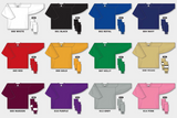 H6000 Practice Series Hockey Jersey Colors