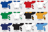 H6100 League Series Hockey Jersey Colors