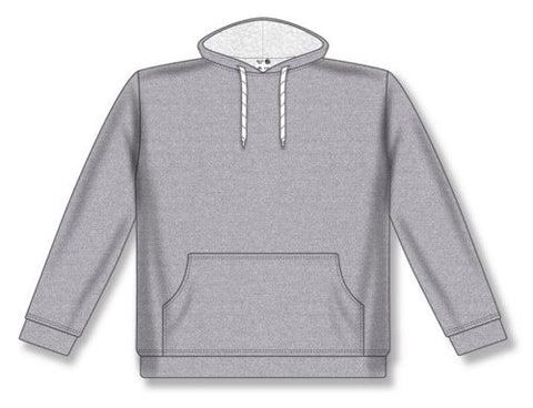 Ladies AK Classic Heather Grey Hoodie