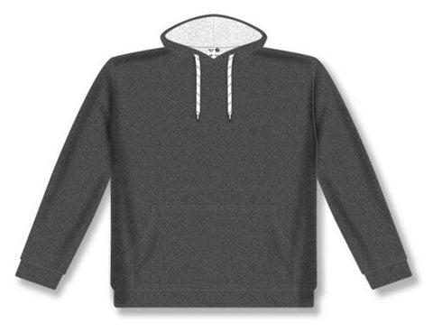 Ladies AK Classic Heather Charcoal Hoodie