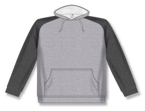 AK Two-Tone Heather Grey/Heather Charcoal Hoodie