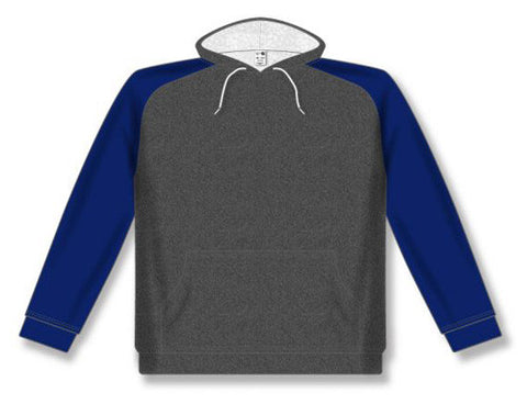 AK Two-Tone Heather Charcoal/Navy Hoodie